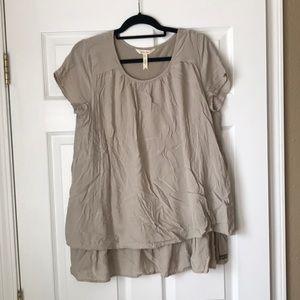 Matilda Jane layered short sleeve top/tunic